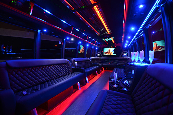 40 passenger party bus rental  Orlando